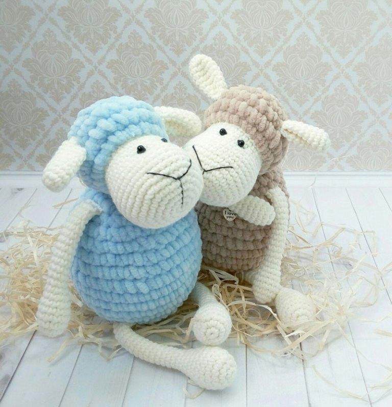 Crochet pattern for doll SUE (Deutsch, English, Français, Español ... | 798x768