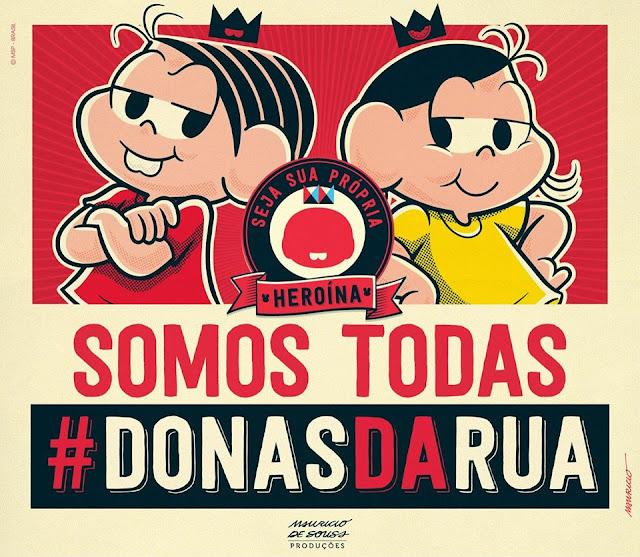 Mônica e Magali #DonasdaRua