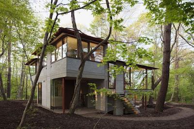 บ้านโมเดิร์นผสมความเป็นธรรมชาติ