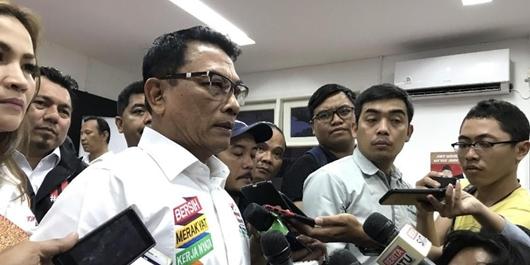 Soal Massa Kampanye Akbar Prabowo, Moeldoko: Satu Juta dari Hong Kong!