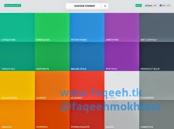 Flat UI Design Desain
