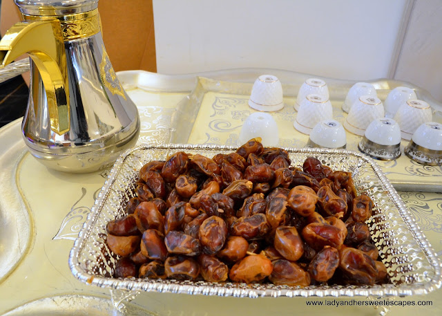Dates and Arabic coffee