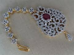 maang tikka gold designs with price in Latvia