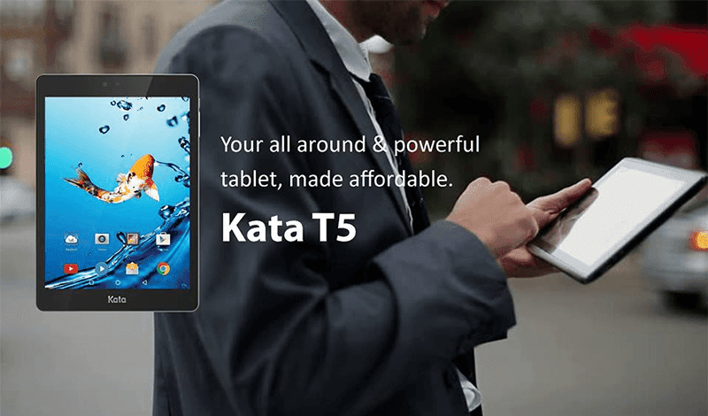 Kata Launches T5, A Stylish Tablet For PHP 4999
