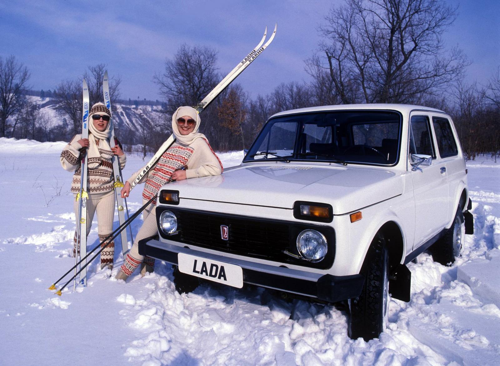 Российский внедорожник ВАЗ 2121 Нива