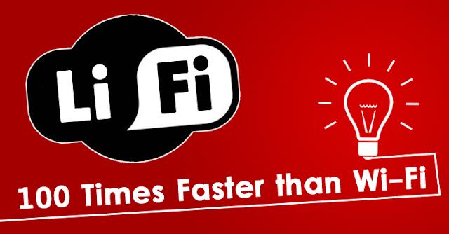 Li-Fi لاي فاي تقنية أقوى من الواي فاي بـ 100 مرة