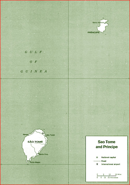 image: Sao Tome and Principe political Map