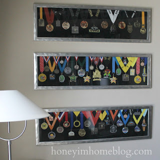 Honey I M Home Displaying Running Medals