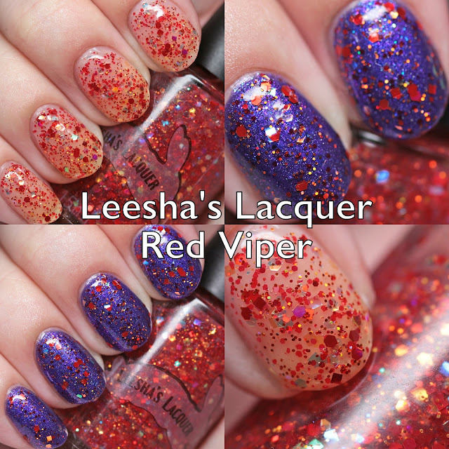Leesha's Lacquer Red Viper 5-Year Anniversary Re-Releases
