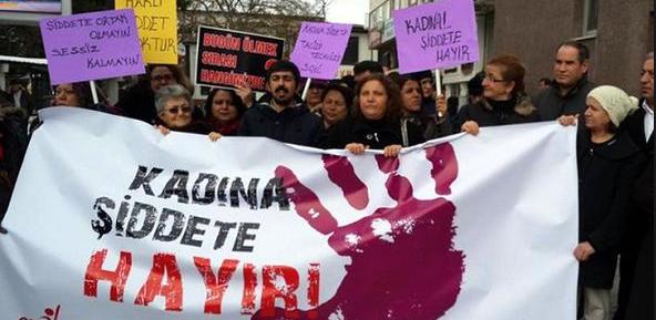 kadın şiddet hayır