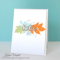 Spotlight Die Cutting  - Kara Vrabel