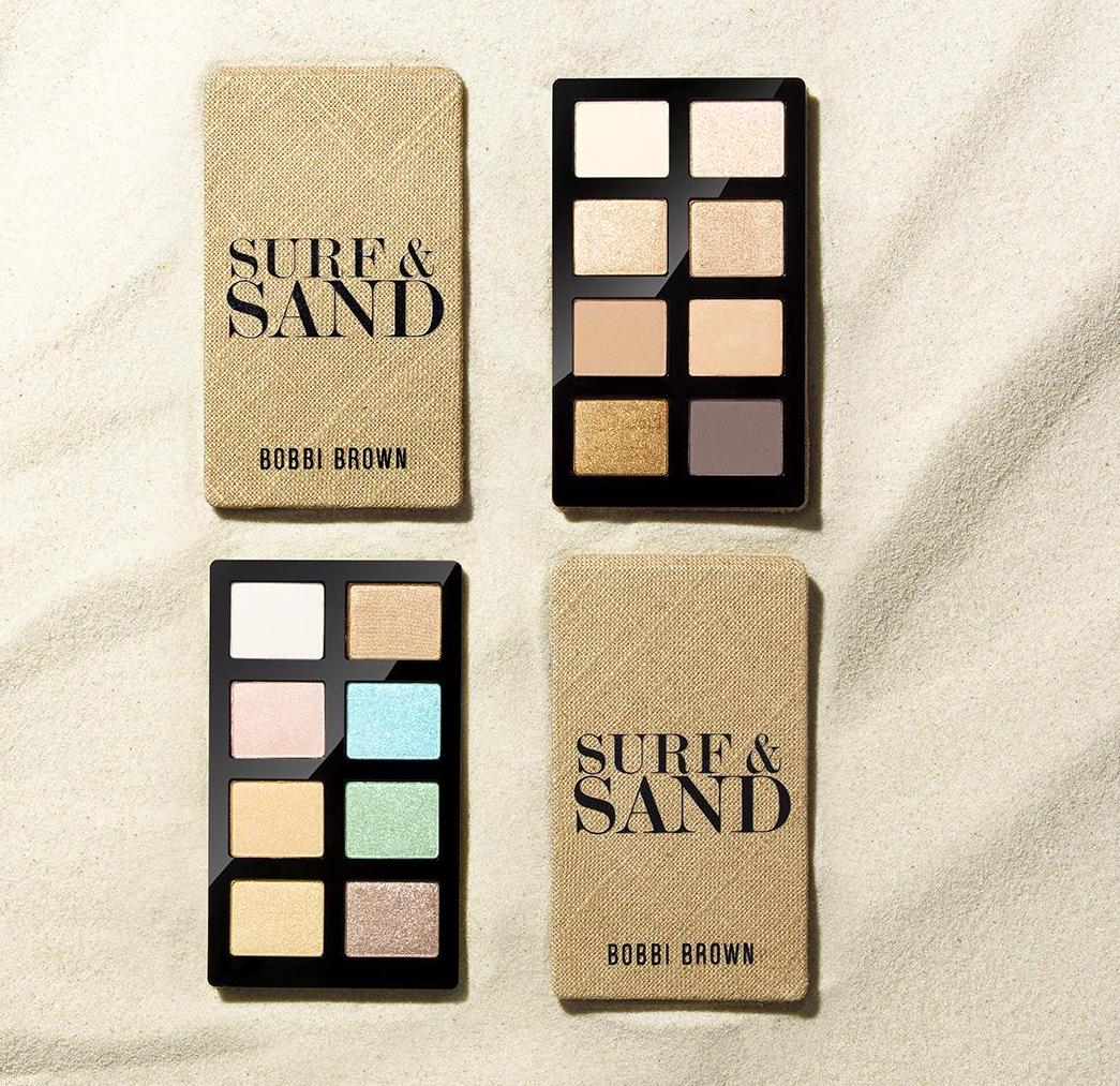 Bobbi Brown Surf and Sand eye palettes