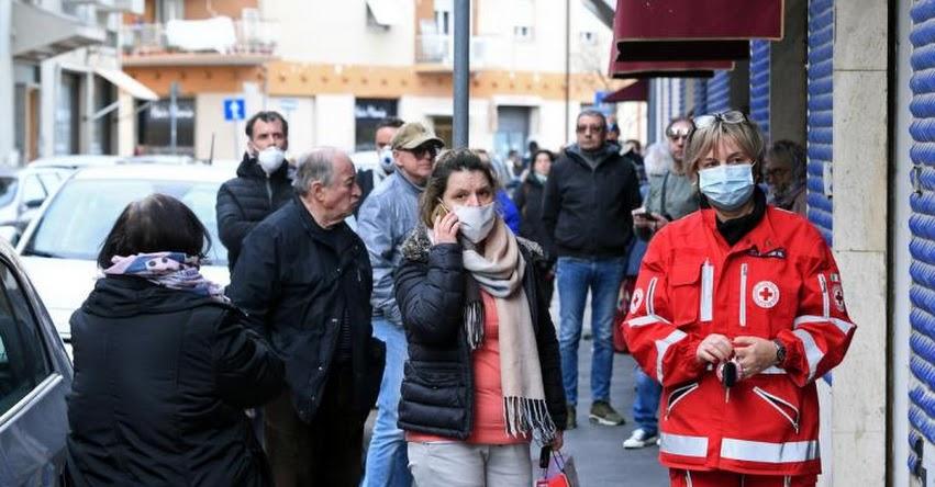 CORONAVIRUS: Autoridades de Italia publican informe de las características en común que compartían el 100% de víctimas mortales por el Covid-19