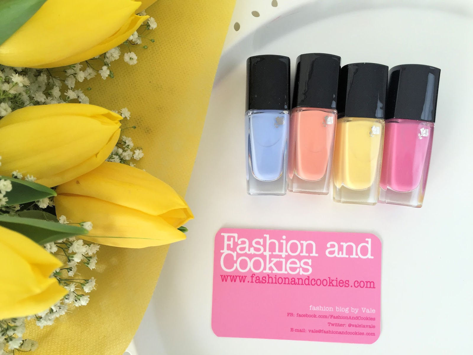 Lancôme makeup collection for Spring 2016 My Parisian Pastels vernis in love candy shades on Fashion and Cookies beauty blog, beauty blogger