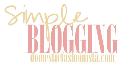 Simple Blogging--easy tips on running a successful blog