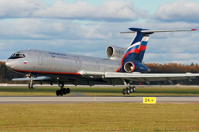 Russian Plane Tupolev Tu-154 Crashed in Black Sea!