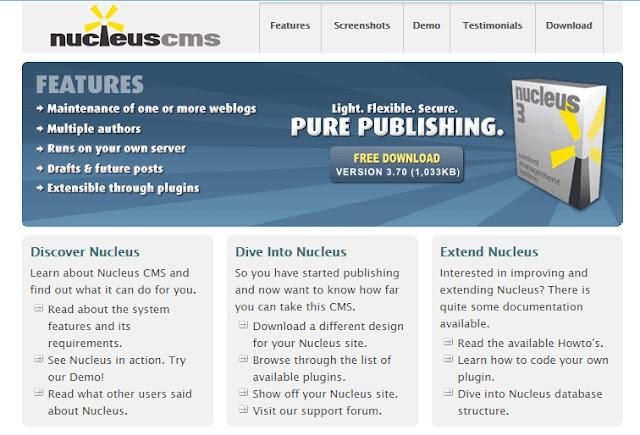 nucleuscms online software