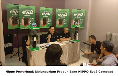 Hippo Powerbank Meluncurkan Produk Baru HIPPO Evo2 Compact