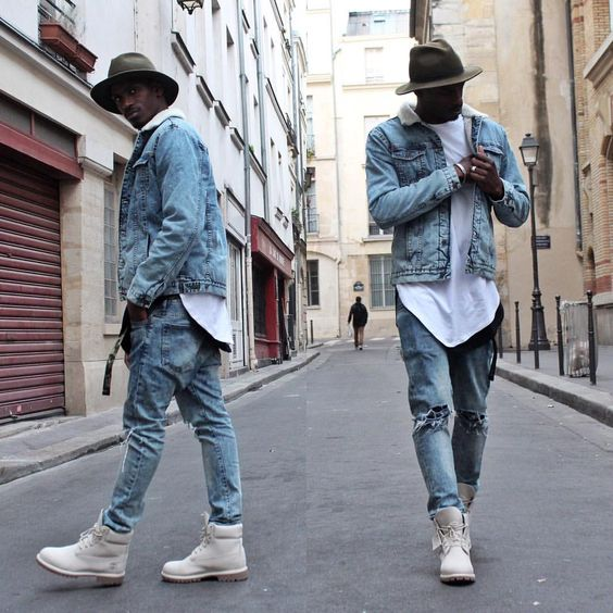 look masculino all jeans