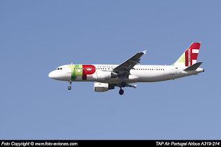 Airbus A320 CS-TNR