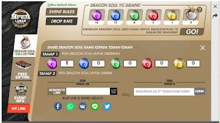Dragon Soul free fire || Cara berbagi dan Mendapatkan Dragon Soul FF
