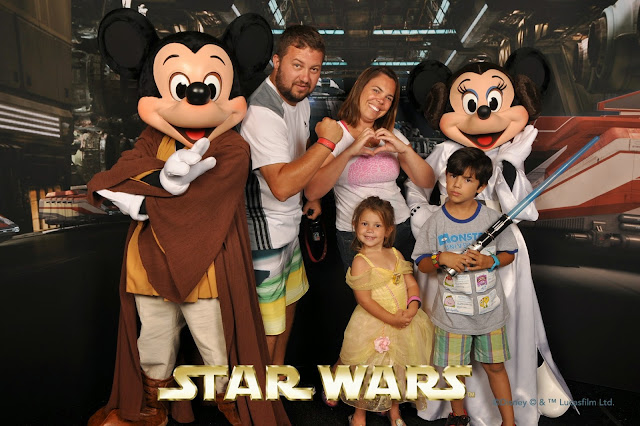 Star Wars - Mickey e Pateta