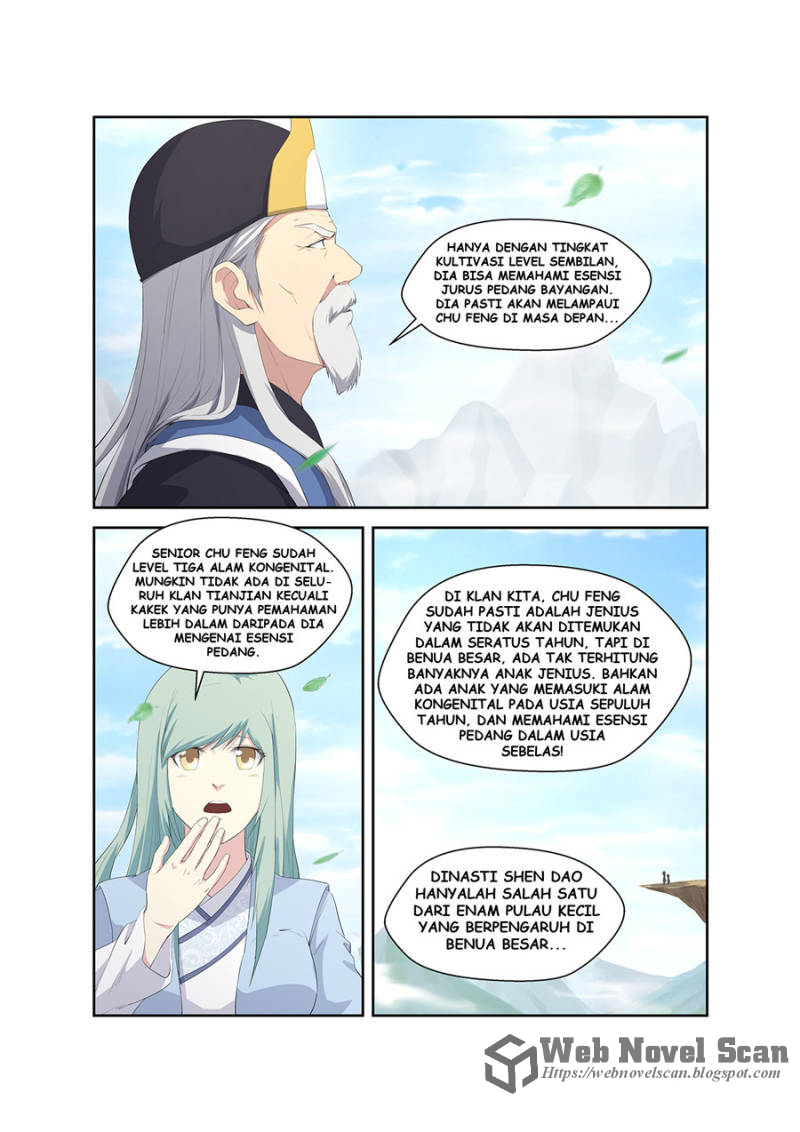 Heaven Defying Sword Bahasa Indonesia Chapter 61