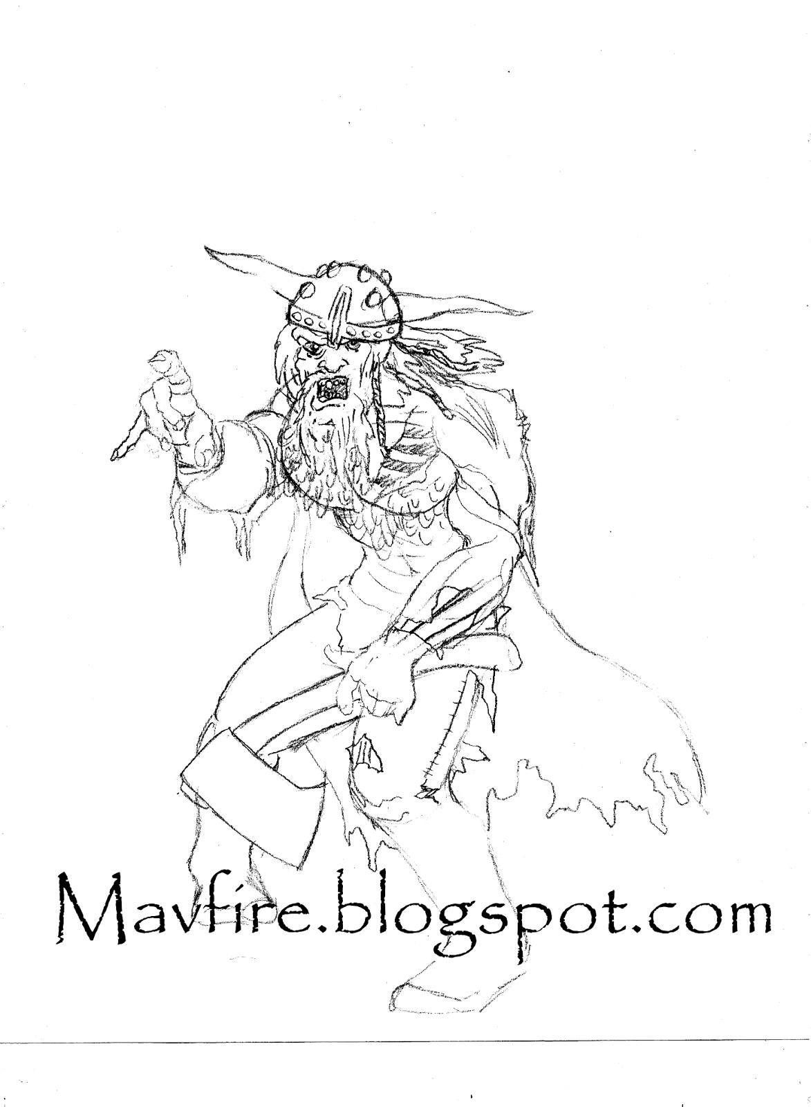 del teigeler s art blog as sh radioactive viking zombie plete Radiation Symbol viking zombie sketch