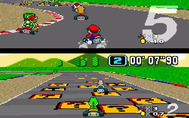 Super Mario Kart, videojuego, carreras de coches, juego de carreras, Nintendo, Super nintendo, Wii, precio, descargar Super mario kart, Super Mario Kart snes, Super Mario Kart 8, Super Mario Kart wii