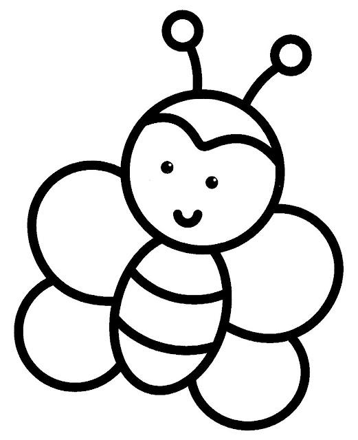 رسومات بسيطة للتلوين للاطفال