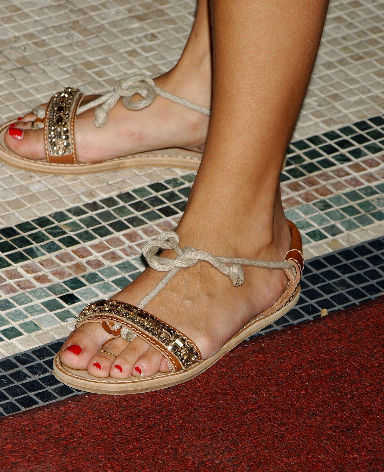 Celebrity Feet Rashida Jones