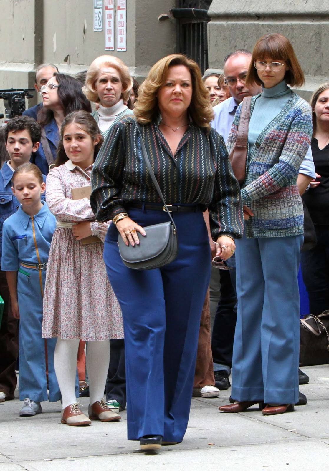 Melissa McCarthy On The Set Of The Kitchen In Harlem