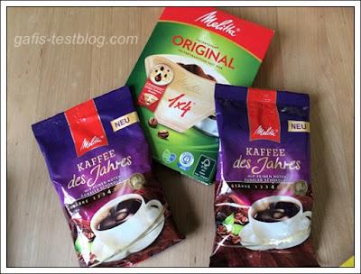 Melitta Kaffee des Jahres und Melitta Filtertüten Original