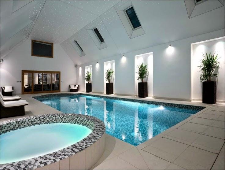 Modelo piscina interna