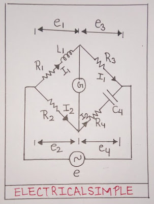 Hays Bridge Phasor Diagram Disadvantages Electrical Simple