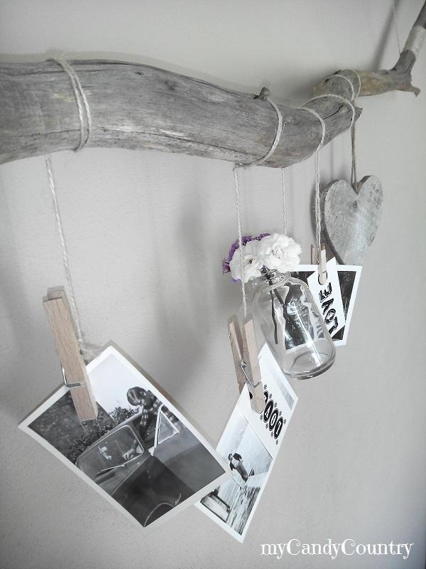 Riciclo creativo: portafoto home decor fai-da-te