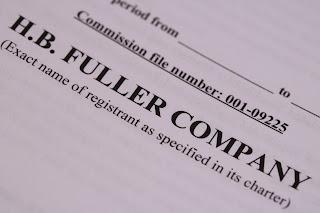 HB Fuller dividend 2016