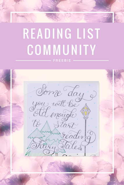 Reading List Community Freebie for March 2017 ... sign up for your weekly newsletter for free!