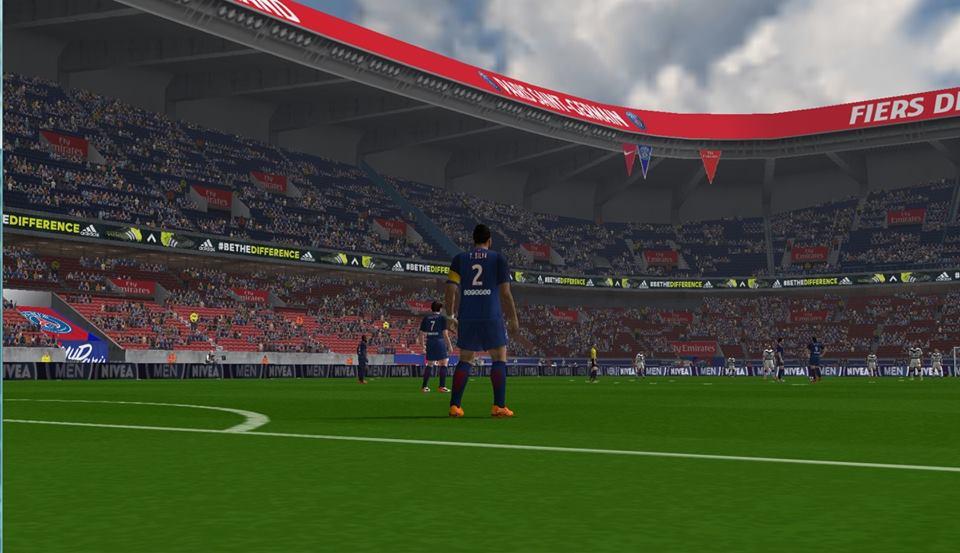 ultigamerz: PES 6 Parc Des Princes (PSG) New Stadium 2016-17