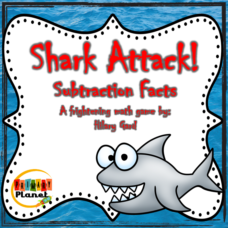 Link to Shark Attack Freebie Math Game