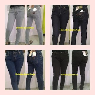 Jual celana jeans slim fit murah Sumudang