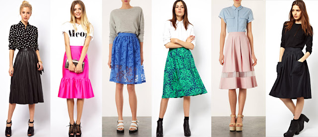 the best midi skirts for autumn