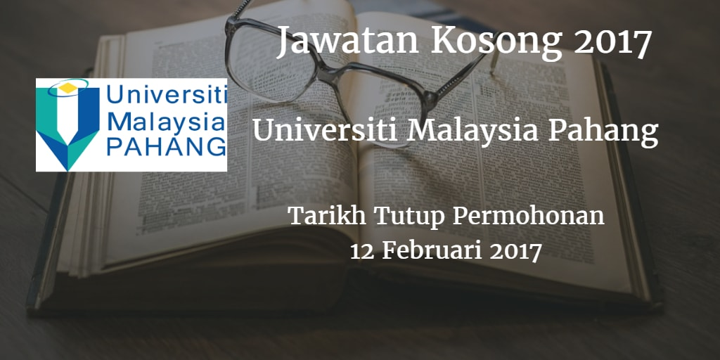 Jawatan Kosong UMP 12 Februari 2017