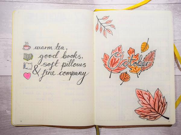 Bullet Journal   October Set Up