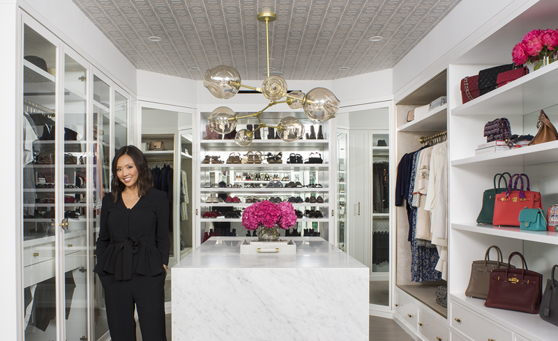 cool closets, big closets, la closet designs