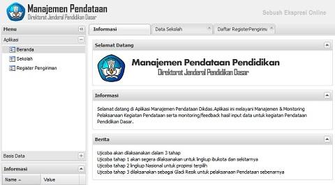 Cek Hasil Input Data Dapodik Sekolah di Pendataan Dikdas Kemdikbud
