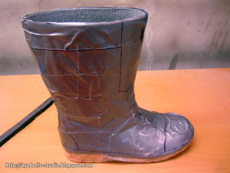 Dwarven Boots Eyeballs Studio