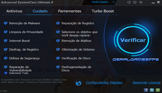 codigo de licenca advanced systemcare 9