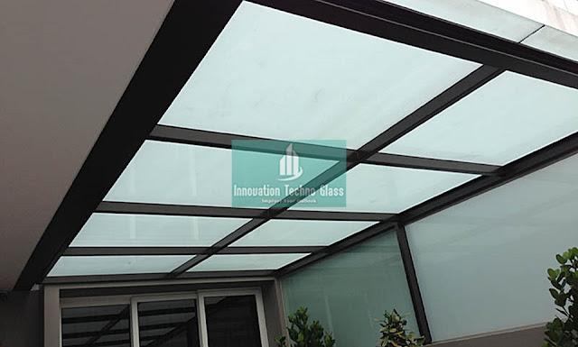Kanopi Kaca Teras di Cluster Emerald - Bintaro 9