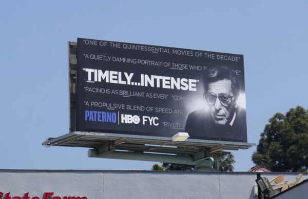 Paterno Timely Intense Emmy FYC billboard
